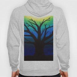 3 Visions Art Moon Tree Hoody