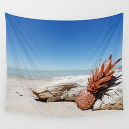 Rose Gold Pineapple Awesome Wall Tapestry
