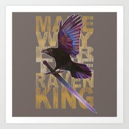 The Messenger/ Raven Cycle Art Print