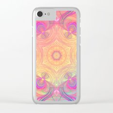 Psychedelic Kaleidoscope Clear iPhone Case