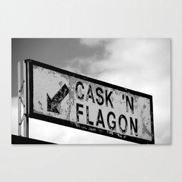 Cask 'n Flagon Canvas Print