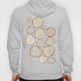 Tree Rings Hoody