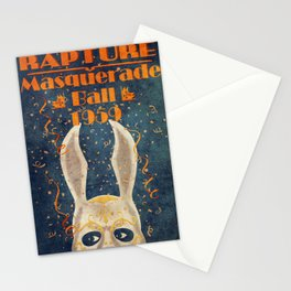 Bioshock masquerade ball 1959 Stationery Cards