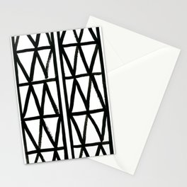 Brush and Ink II Mudcloth Pattern Stationery Cards