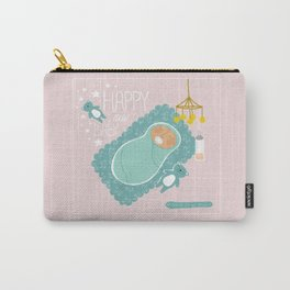 Happy new baby - Postcard / Artprint Carry-All Pouch