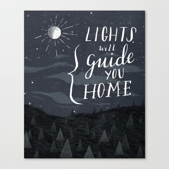 Lights Will Guide You Canvas Print