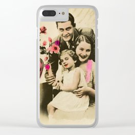 The OG Addams Family Clear iPhone Case