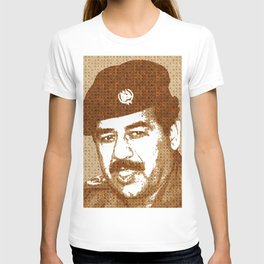 Scrabble Saddam Hussein T-shirt