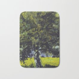 tree painting Bath Mat