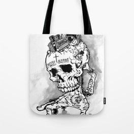 HOT SKULL Tote Bag