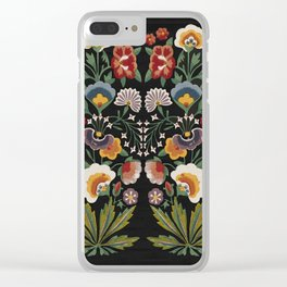 Plant a garden Clear iPhone Case
