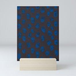 Blueberry Black Mini Art Print