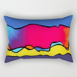 CALIFORNIA WAVE Rectangular Pillow