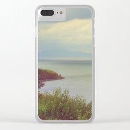 Atlantic view Clear iPhone Case