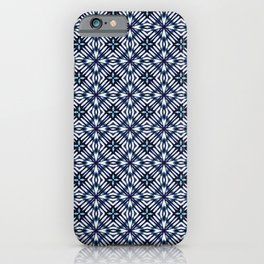 Modern Checked Pattern iPhone Case