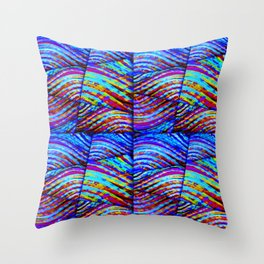 LET'S MAKE WAVES Throw Pillow