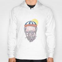 beard Hoodies featuring BEARD by Nazario Graziano