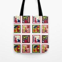 matisse Tote Bags featuring Matisse Full Design by Marilyn Petersen