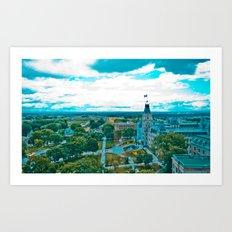 Old Quebec City 01 Art Print