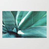cactus Area & Throw Rugs featuring Cactus by Alexandra Str