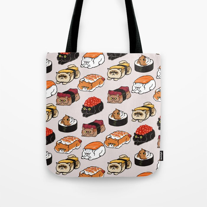 Sushi Persian Cat Umhängetasche
