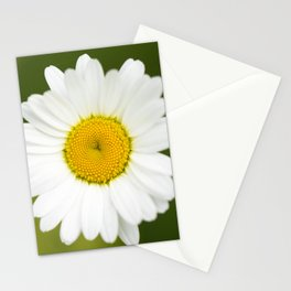 Beautiful Daisy Natural Green Background #decor #society6 #buyart Stationery Cards