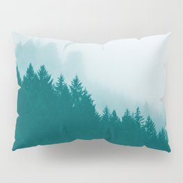 Green Mountain Fog Pillow Sham