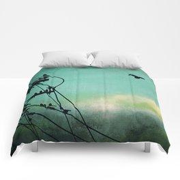 Bird City Revisited Comforters