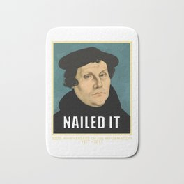 Luther NAILED IT Bath Mat
