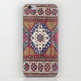 Shahsavan Azerbaijan Antique Tribal Persian Rug iPhone Skin