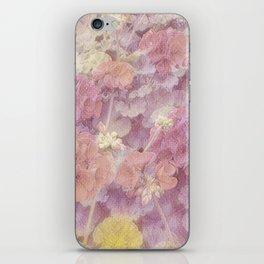 Geraniums iPhone Skin