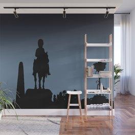 Edinburgh silhouette Wall Mural