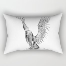 Lonely Angel Rectangular Pillow