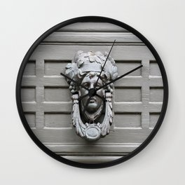 Door Knocker  Wall Clock