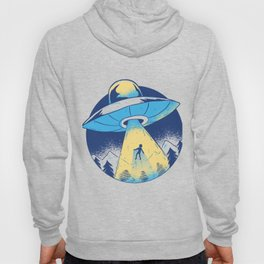 Abduction drawing Hoody