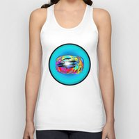 dolphins Tank Tops featuring Dolphins by JT Digital Art