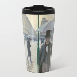 Paris Weather Painting Travel Mug