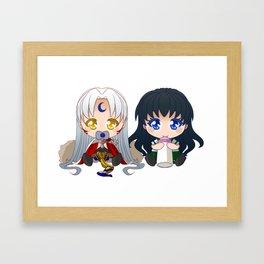 [SessKag] Baby Framed Art Print