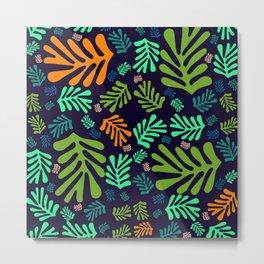 """""""Pattern Spring Night Garden"""" Metal Print"""