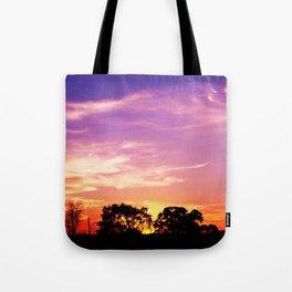 East Texas Sunset Tote Bag