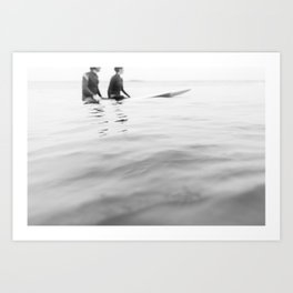 SURF 4 Art Print