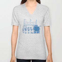 I Choose Blue Unisex V-Neck