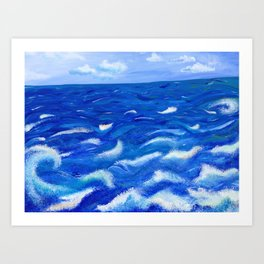 Ever in Motion; Ever the Same Art Print