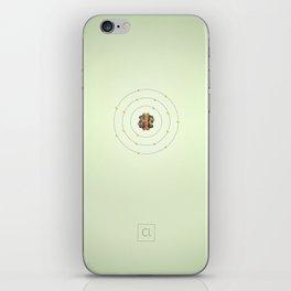 17 Chlorine - Atomic Poster iPhone Skin