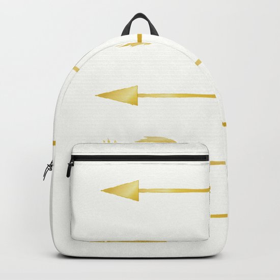 Golden Arrows Backpack