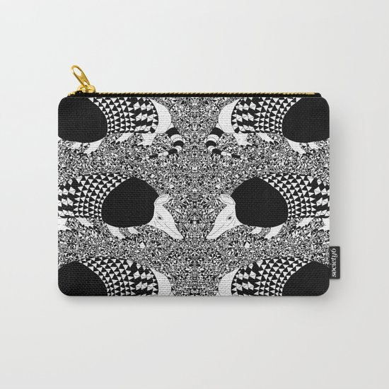 Static Armadillo Carry-All Pouch