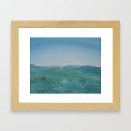 Yerushalayim Framed Art Print