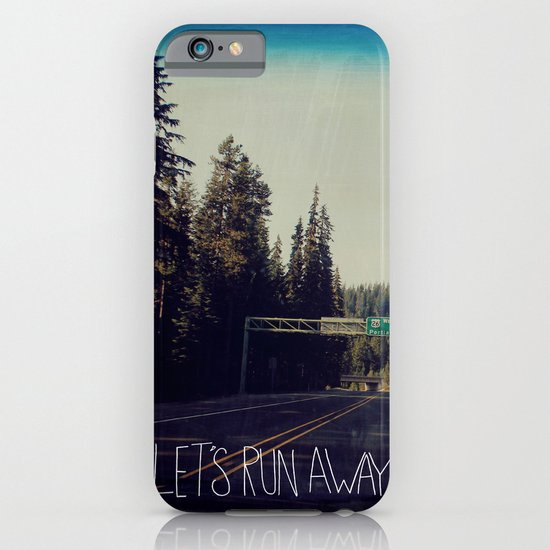 Let's Run Away IV iPhone & iPod Case