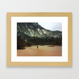 Hopeless Wanderer Framed Art Print