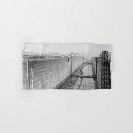 Panama Canal construction Hand & Bath Towel